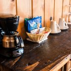 Coffee maker in Cabin 4