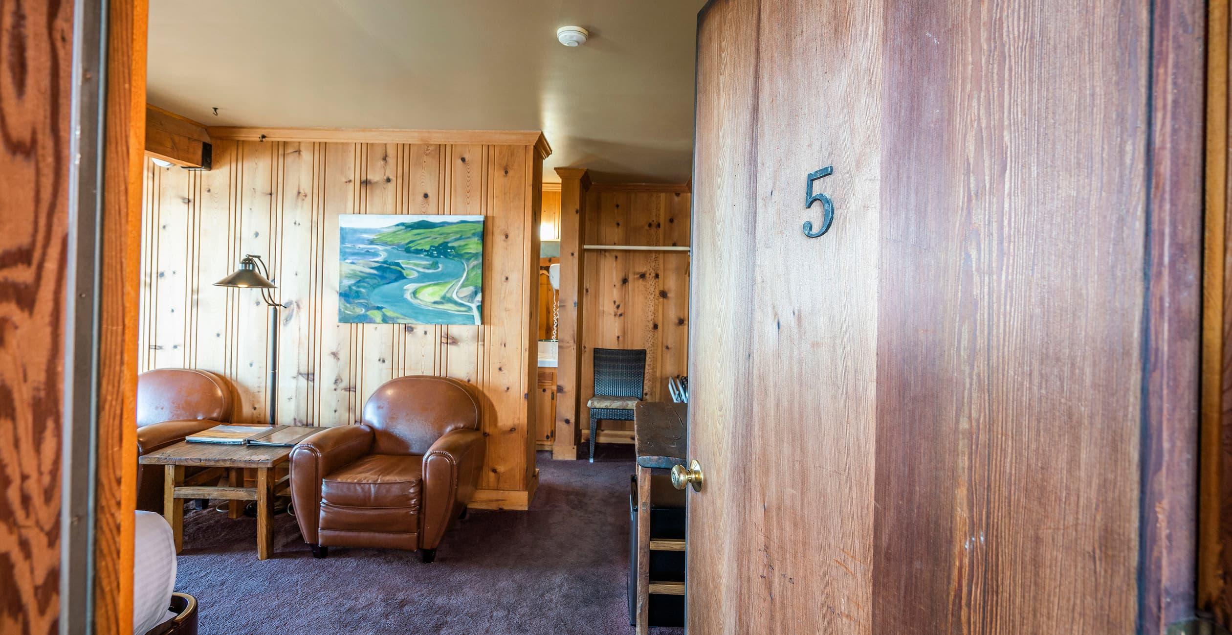 Room 5 doorway