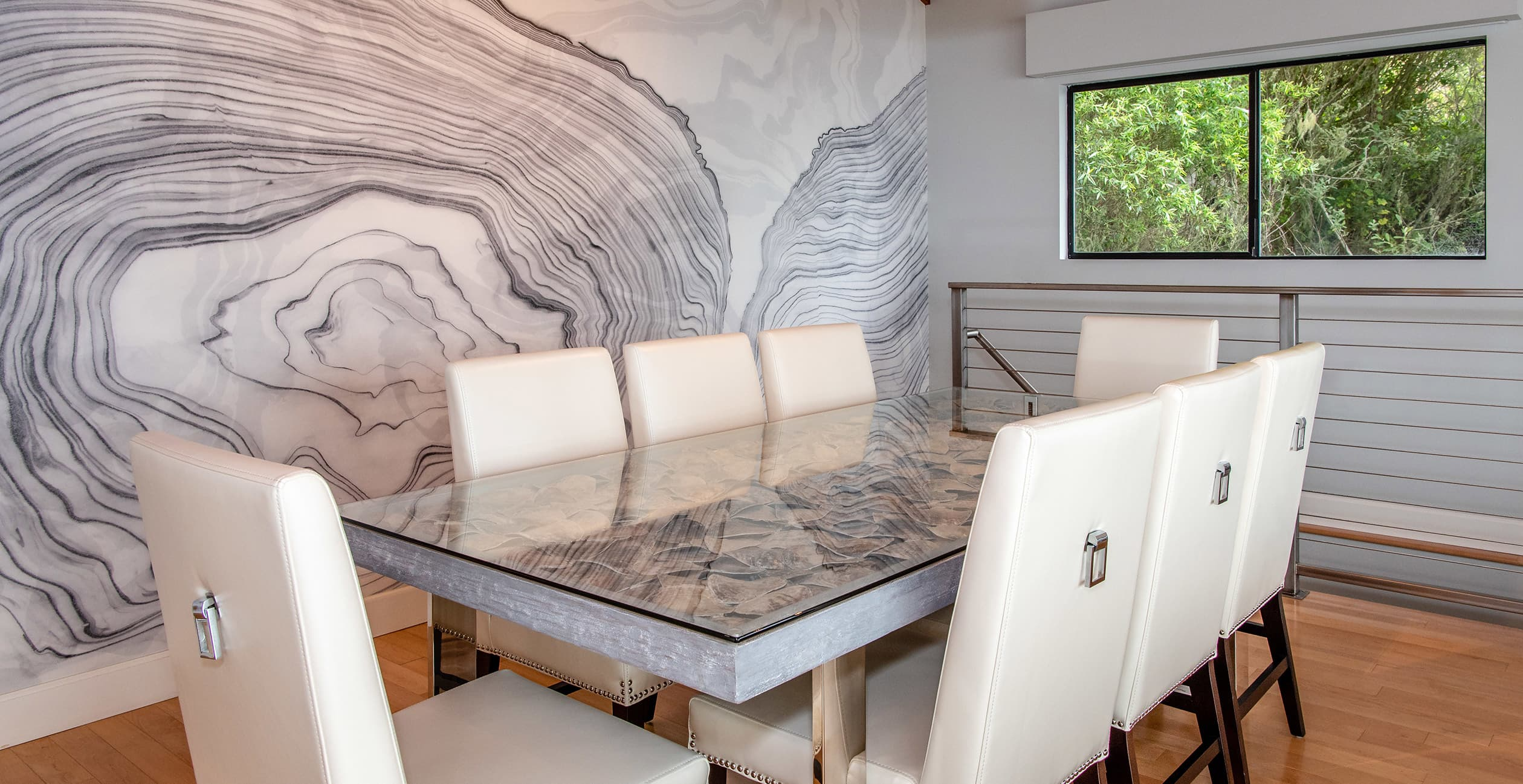 Sunset House dining table